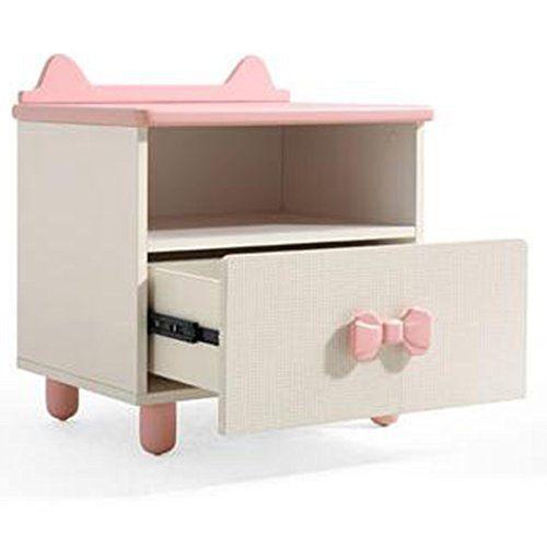 xiaolin children s storage small bedside table cartoon lockers pink rh pinterest com