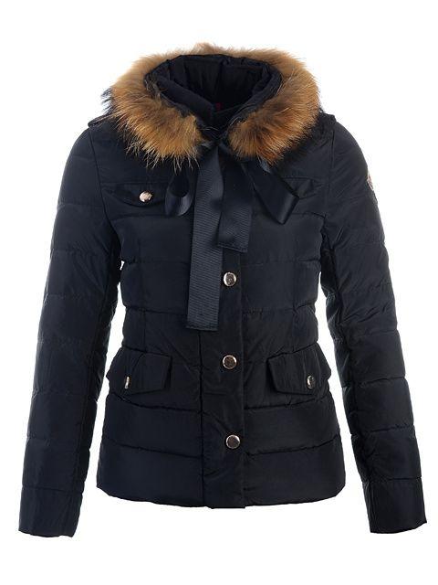 Doudoune Moncler- Moncler Cachalot Femme Noir   Things to Wear ... 04cf42b8883