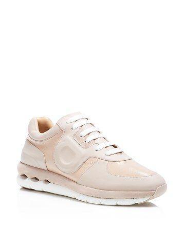 Salvatore Ferragamo Morgan Lace Up Sneakers