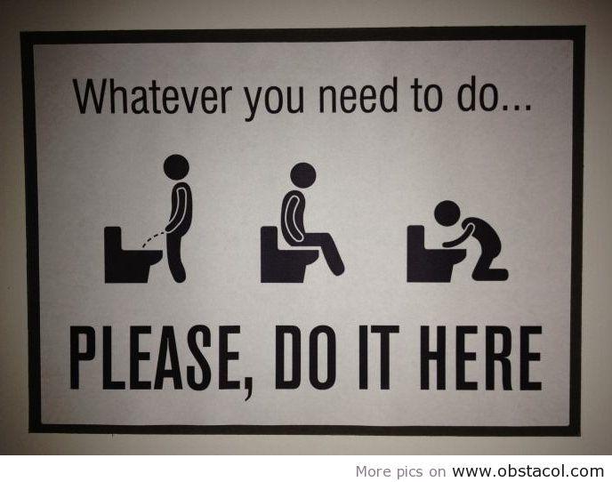 awesome bathroom sign bathroom bathroom signs bathroom quotes rh pinterest com