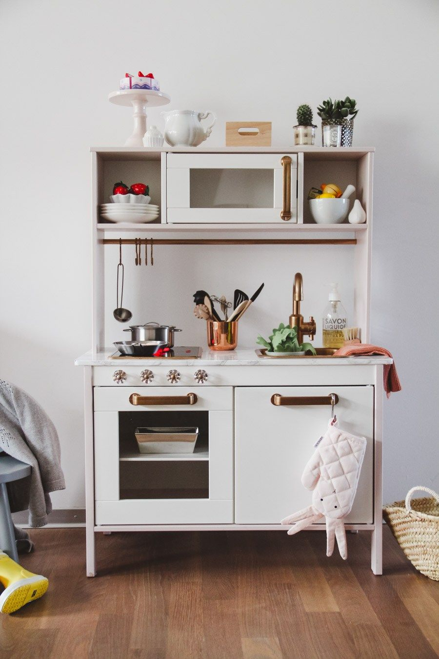 ikea kinderk che pimpen eine kleine anleitung tiny fun. Black Bedroom Furniture Sets. Home Design Ideas