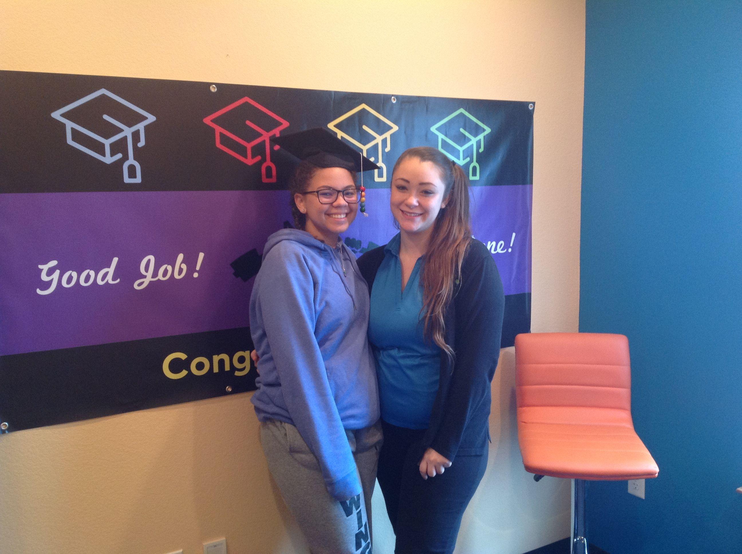 Joslyn 17 Vision Therapy Graduation