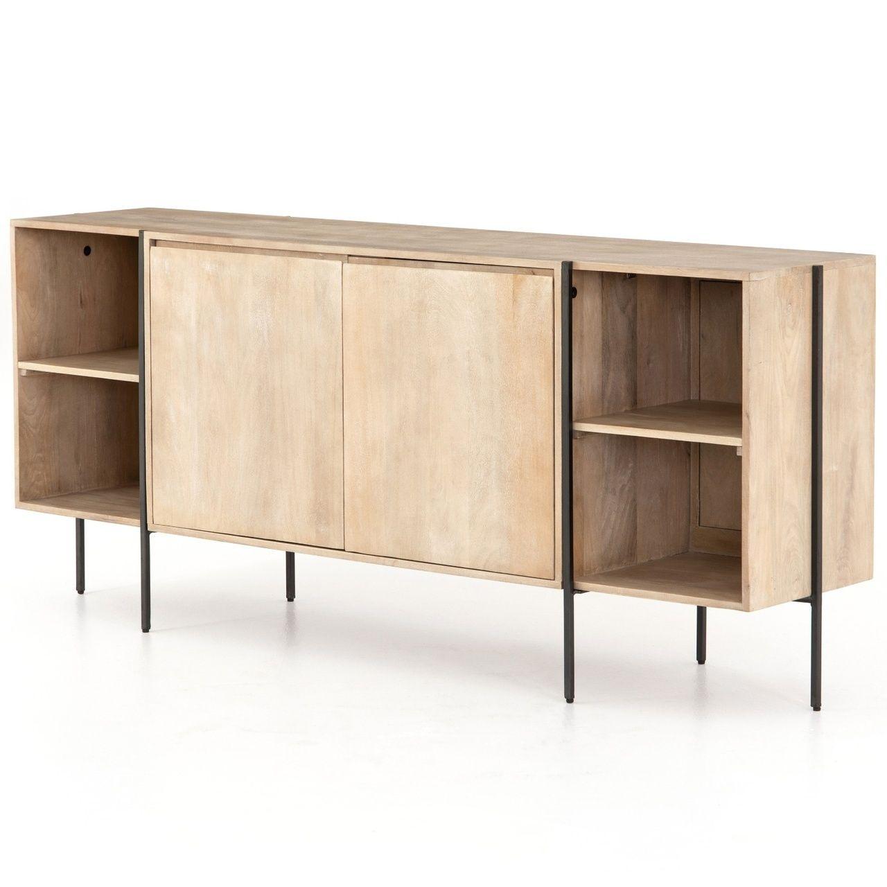 coastal industrial buffet sideboard 73 in 2019 storage cabinets rh pinterest com