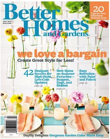 free subscription to better homes and gardens magazine at rh pinterest com