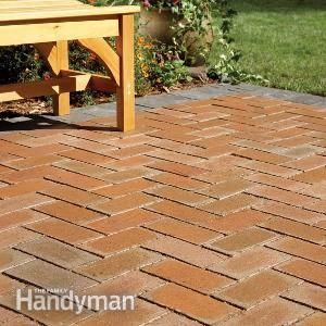 how to cover a concrete patio with pavers gardening going green rh pinterest com