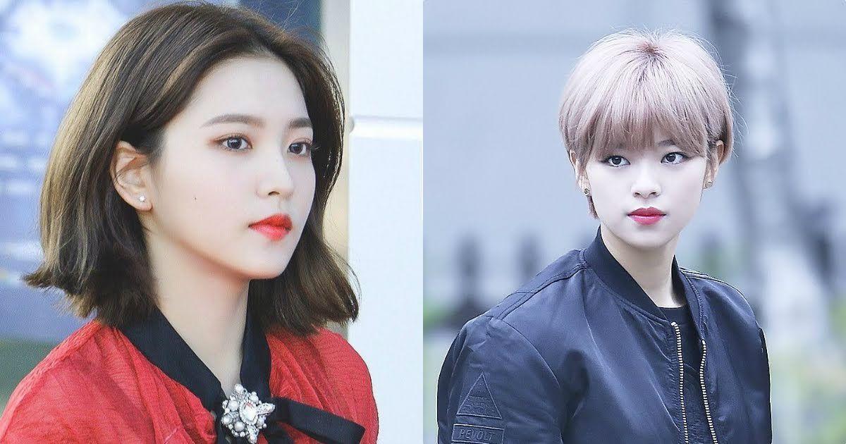 15 Female Idols Who Prove Short Hair Is Beautiful Koreaboo Korean Short Hair Short Hair Styles Kpop Hair