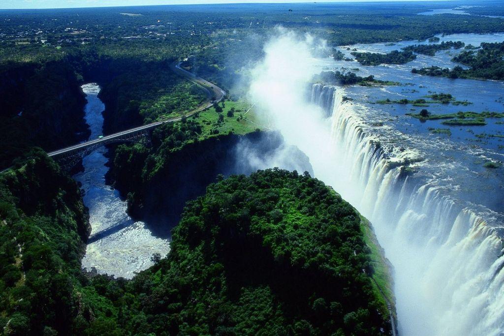 Chutes Victoria (Zambie / Zimbabwe)