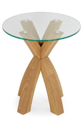 buy glass side table from the next uk online shop amy s bedroom rh pinterest nz