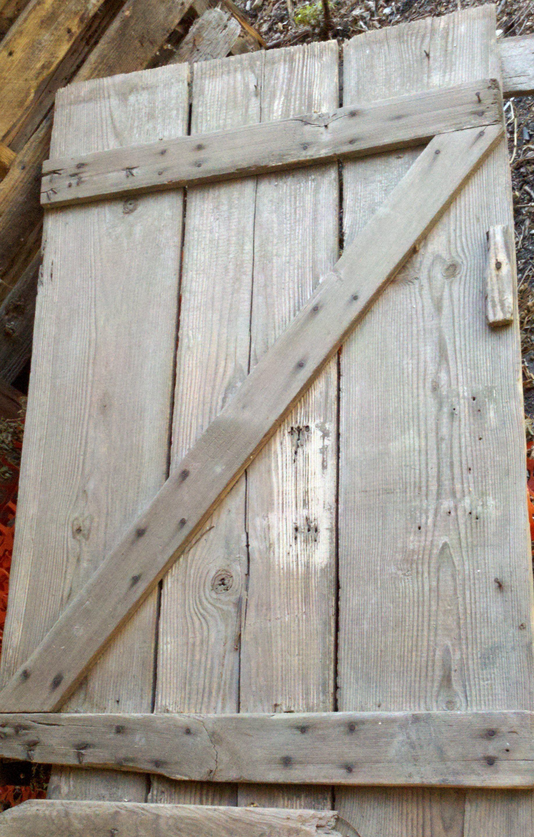 letter z or zed from barn door