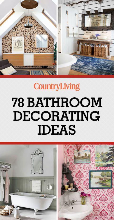 90 inspiring bathroom decorating ideas bathrooms decoraci n de unas rh pinterest es