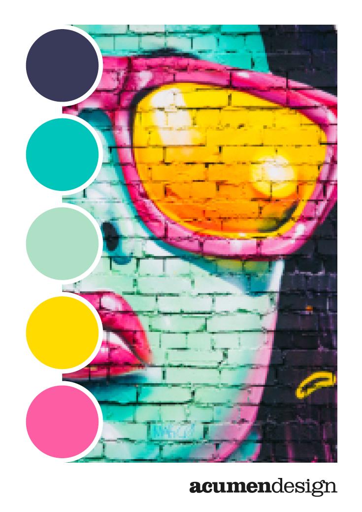 Bright Pop Art With This Colour Palette