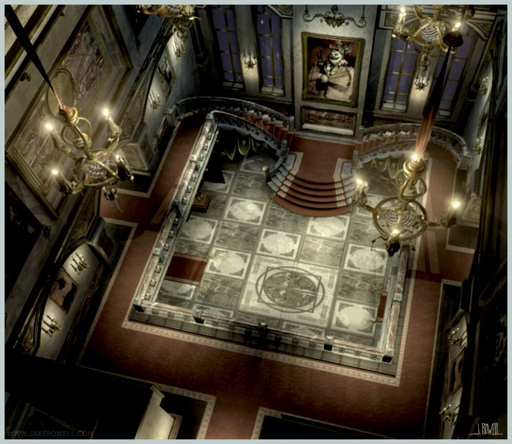 final fantasy ix castle interior artjake rowell | final