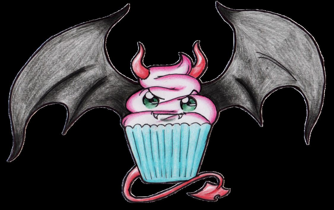 kawaii evil | Cute Evil Cupcake For - cute evil cupcake ...