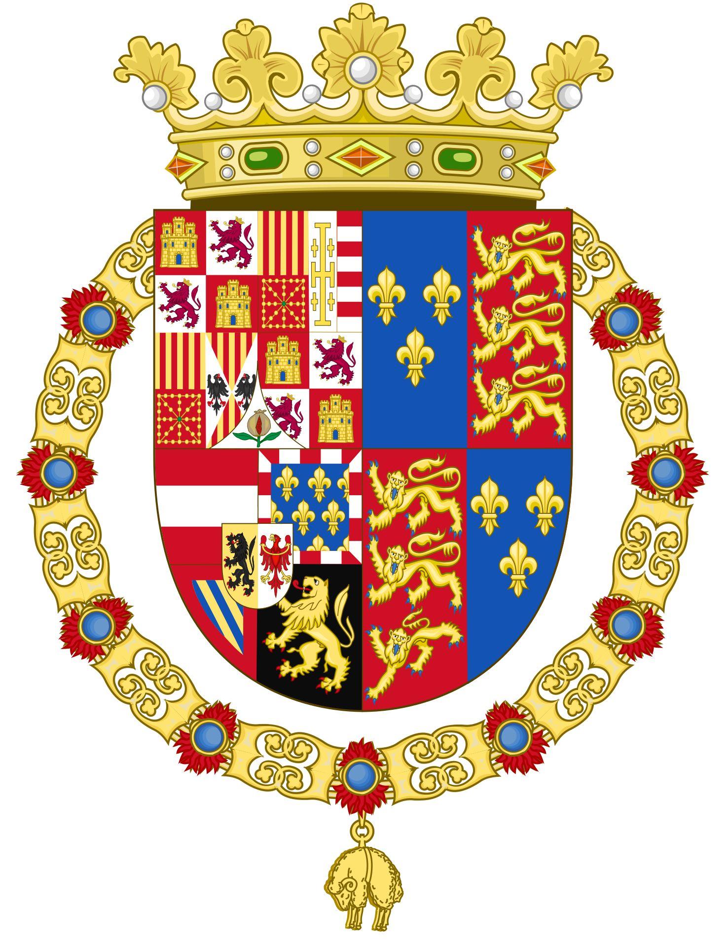 Coat of arms of Philip Ii of Spain