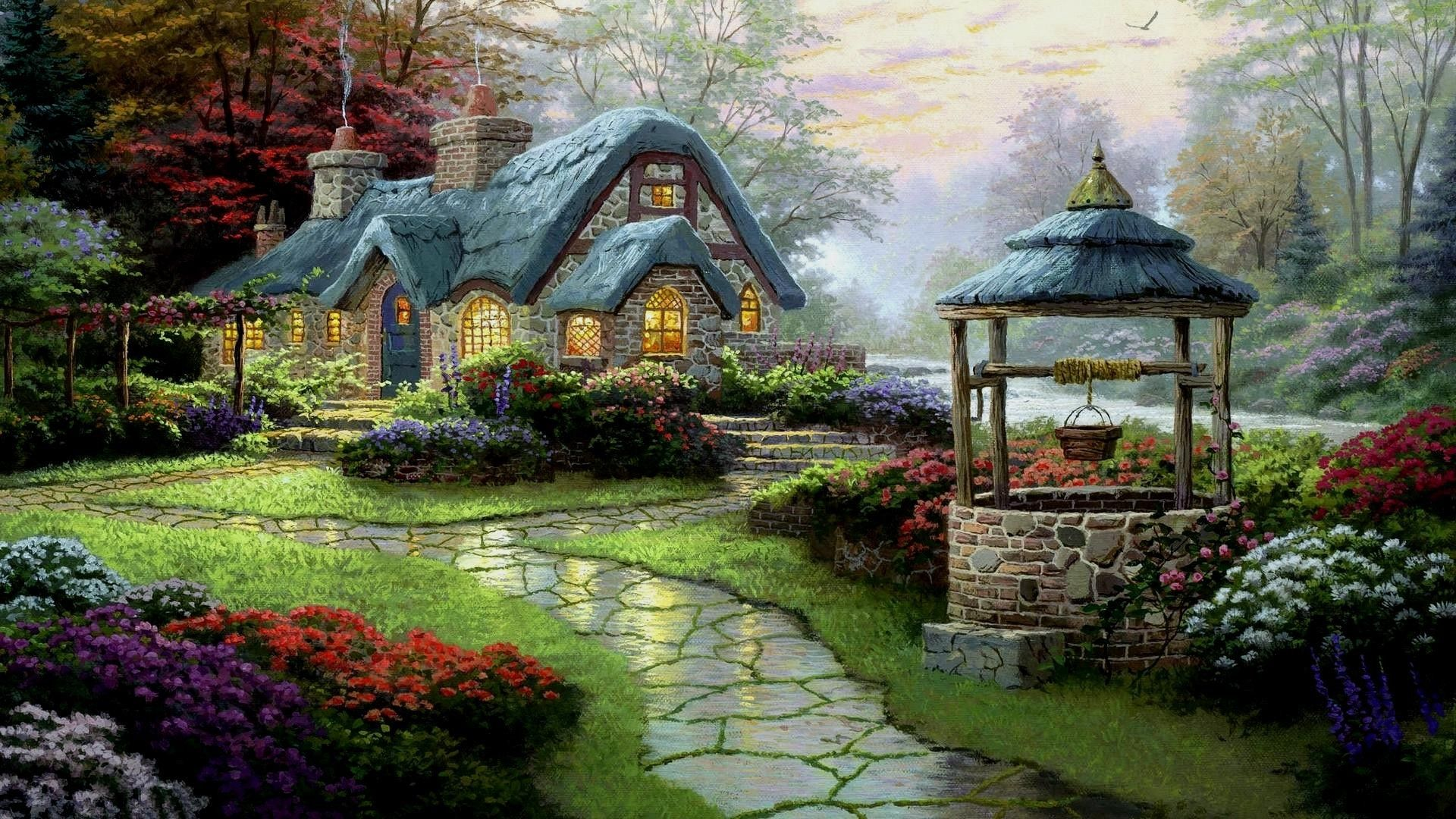 Beautiful English Cottage Hd Cool Wallpaper Free Rh Com