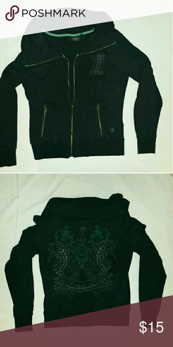 Harley Davidson zippered sweater Zippered sweater