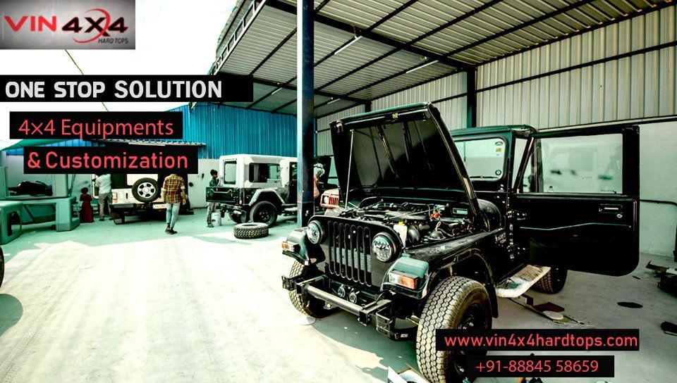 If You Looking For Modification Of Jeep With Elegant Design And