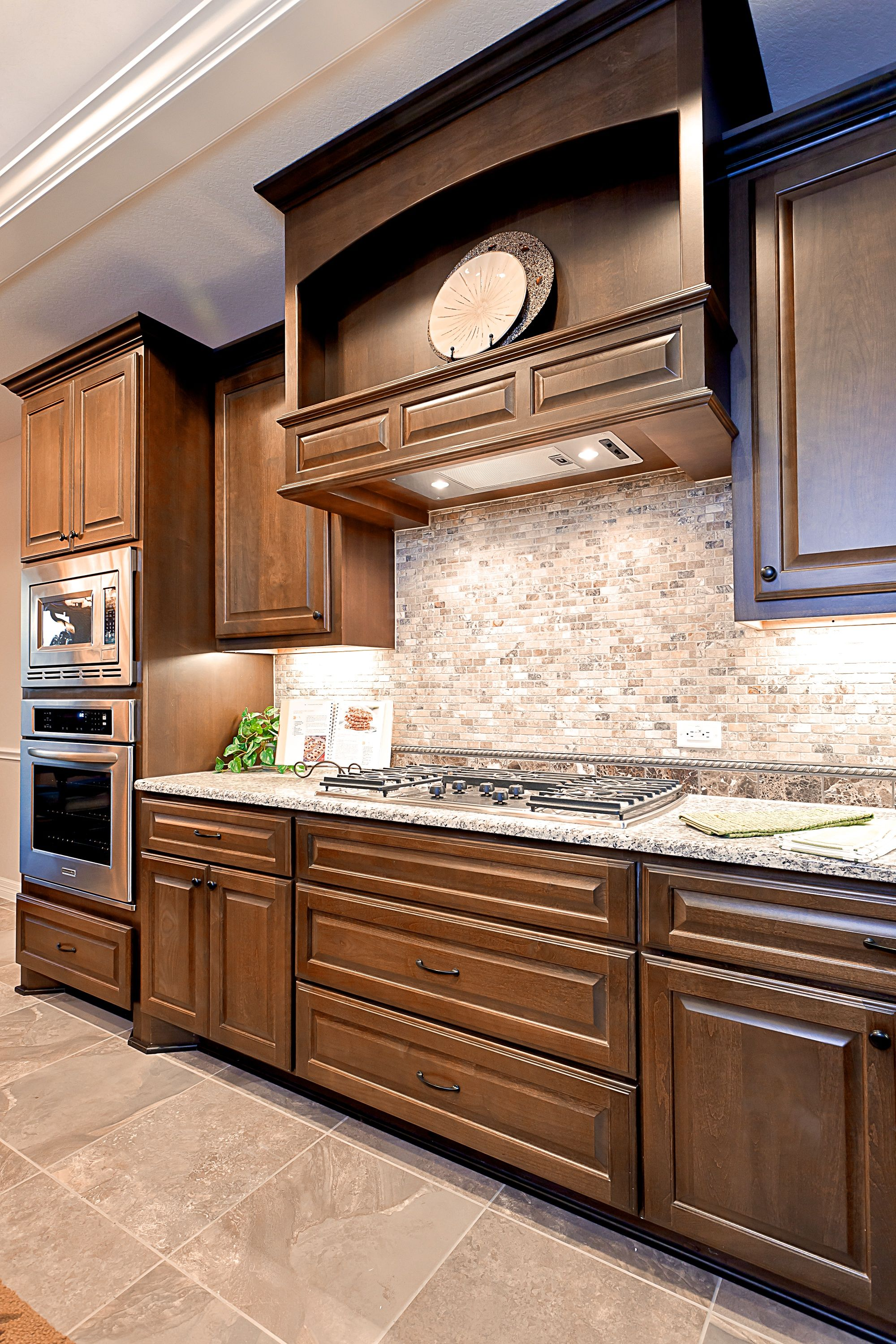 Custom kitchen design by Sierra Classic Custom