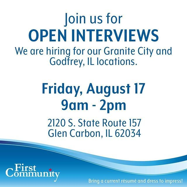 Join Us For Open Interviews This Friday August 17th 9am