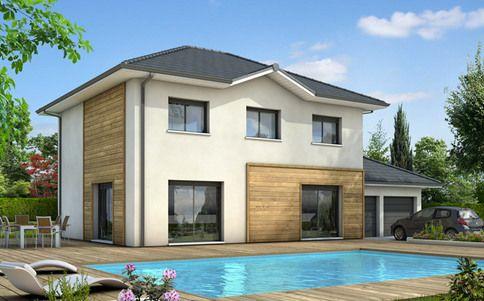 Plan maison gratuit - maison familiale Mont Blanc maison