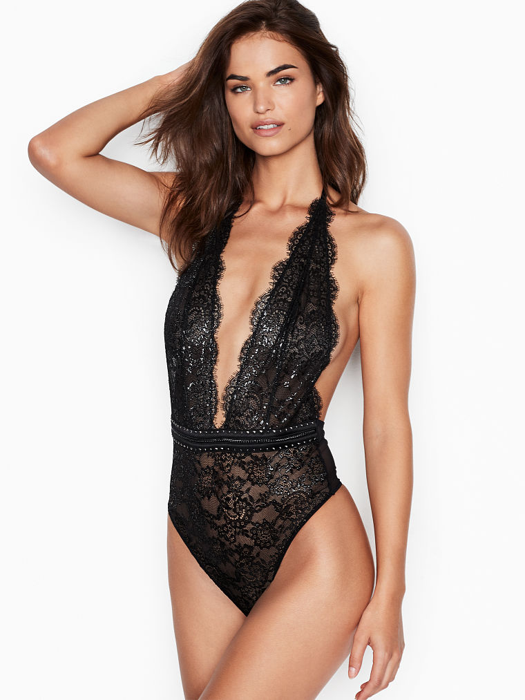 f2692eb400 Eyelash Lace Teddy - Very Sexy - Victoria's Secret $62 | For Jessica ...