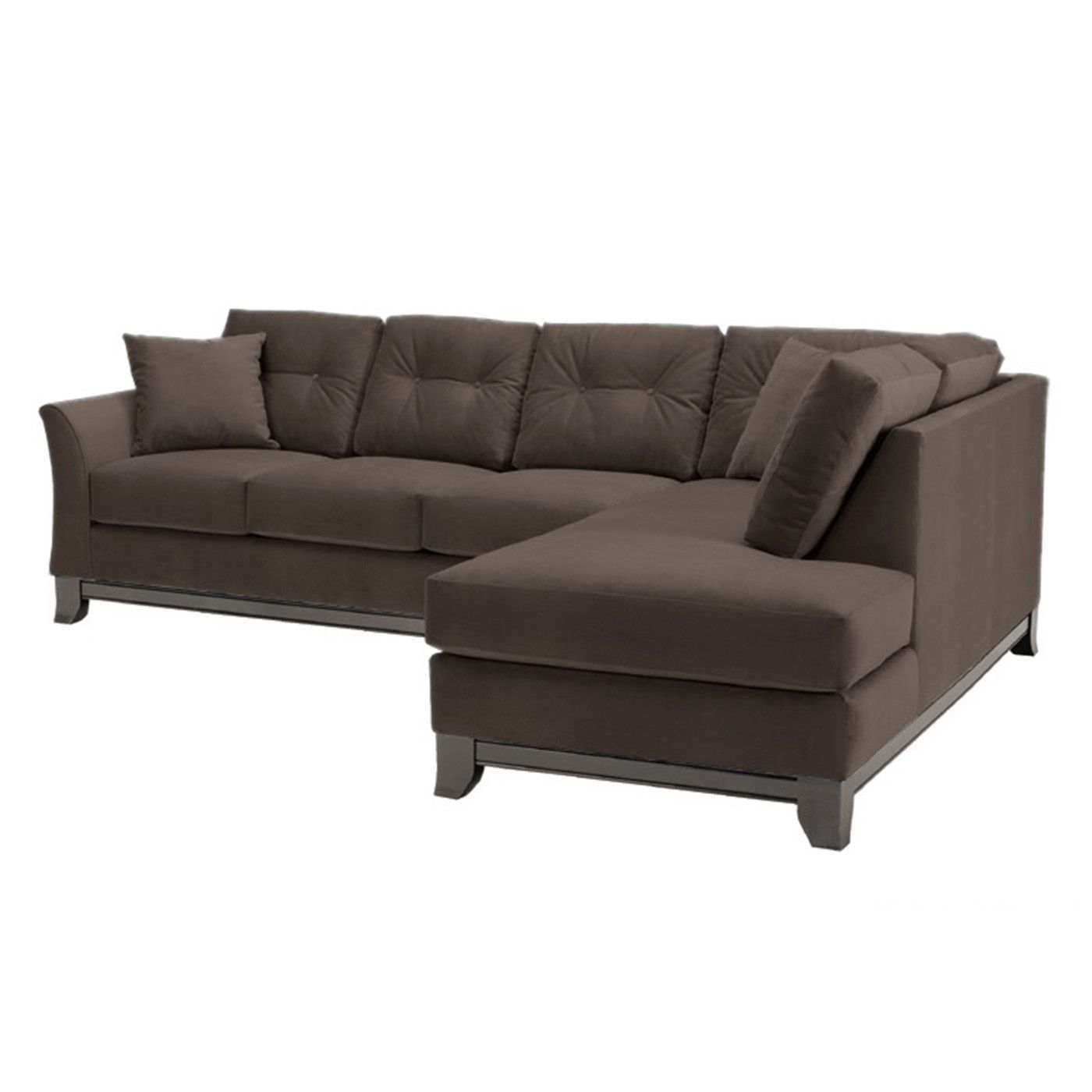 Marco 2pc Sectional Sofa CHOICE OF FABRICS