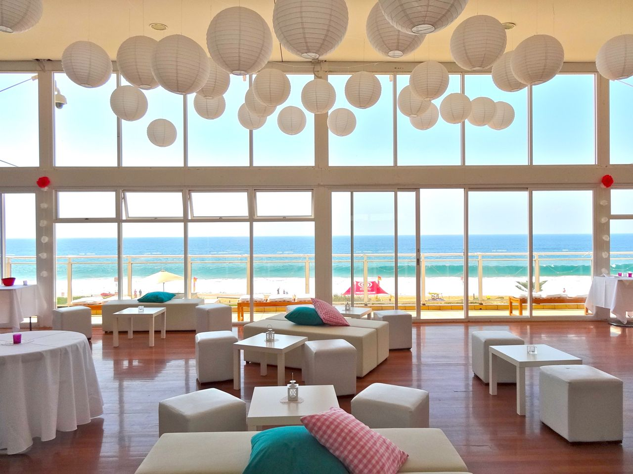 best outdoor wedding venues perth%0A Wedding Reception   Cocktail  Amy  u     Ben      Narrabeen Beach SLSC Catering  and styling by Cloud   Event Management