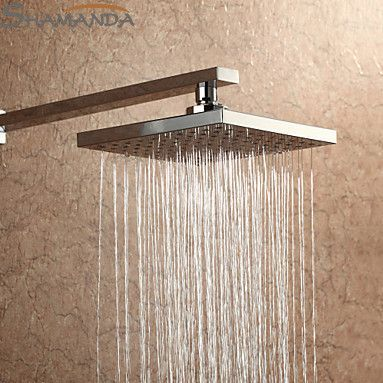 Free Shipping Bathroom Product 8 Inch Square Abs Rainfall Shower