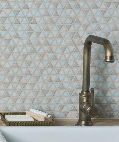 Templo™ Sky Mix Mosaic Tile Topps Tiles Ghana Bathrooms and