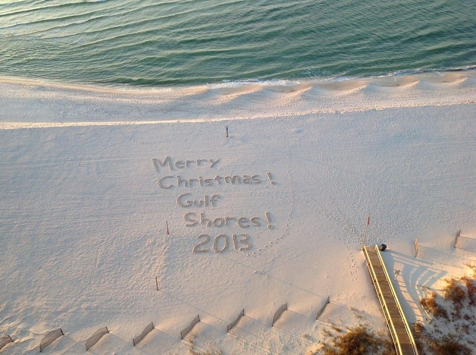 Merry Christmas from Gulf Shores Al.