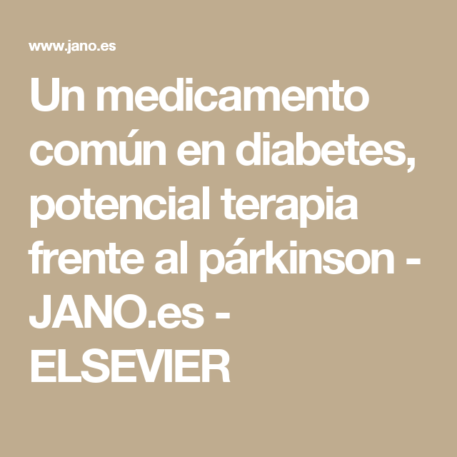 Diabetes Jano