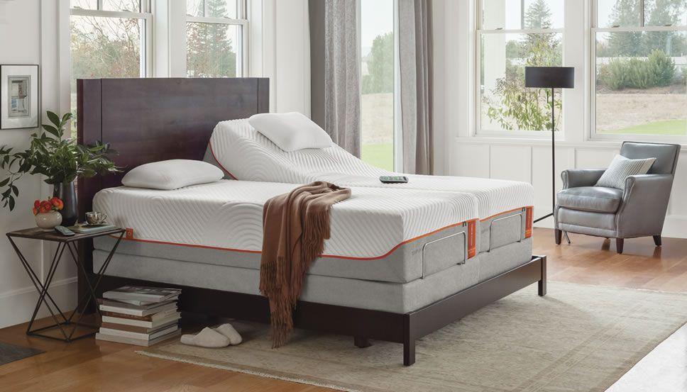 Representation Of Tempurpedic Adjustable Base New Style For Ease Dynamic Furniture Adjustable Beds Adjustable Bed Headboard Furniture