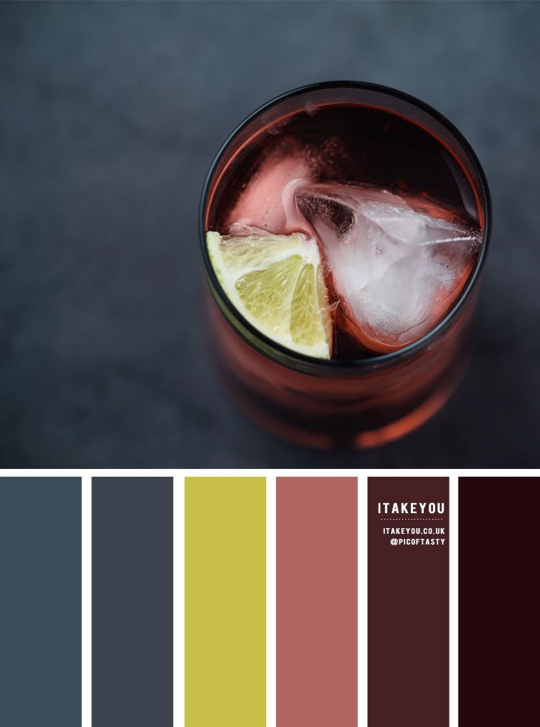 Charcoal , Fig and Lime Color Inspiration