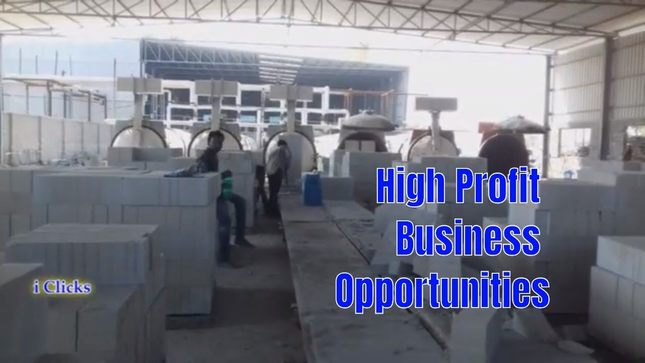 How to Start AAC Bricks Business in Easy Way / High Profit