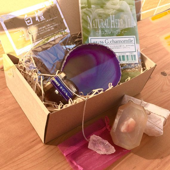 Monthly Subscription Box, Chakra Healing, Crystals and