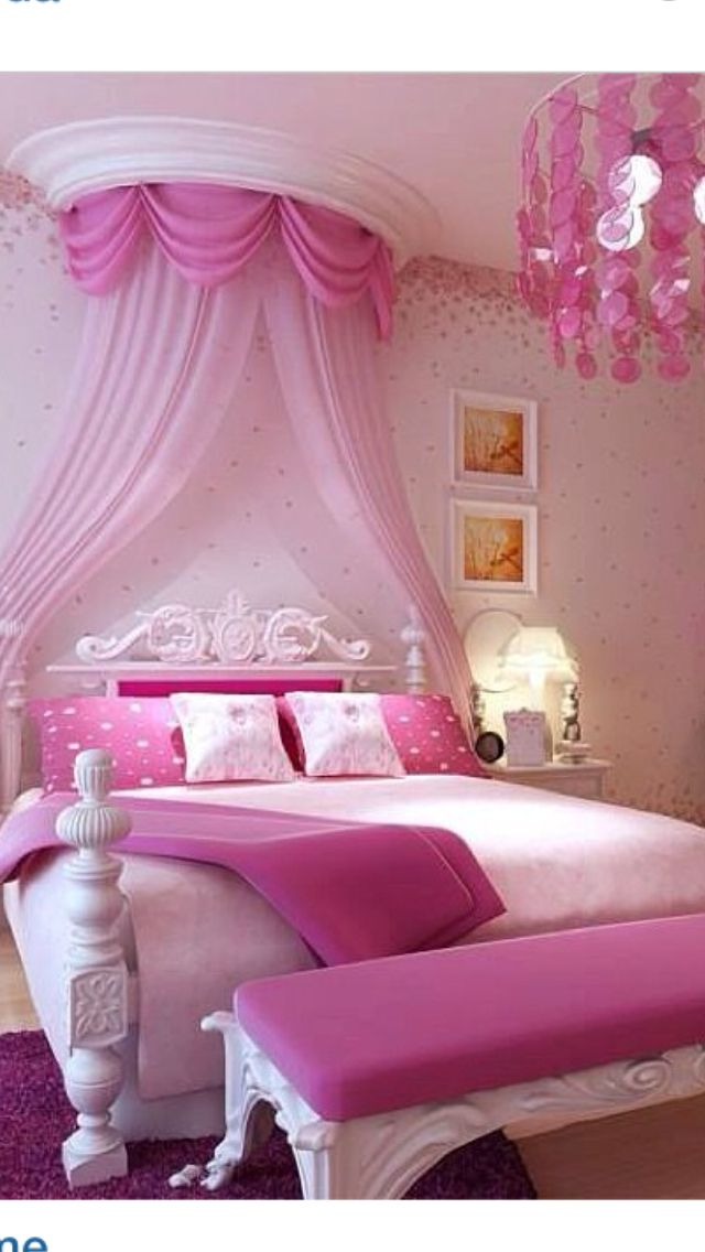 pin by chelsey wethern on sydney s room pink bedroom for girls rh pinterest com