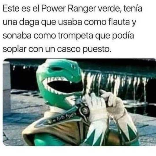 El misterioso caso del Power Ranger verde