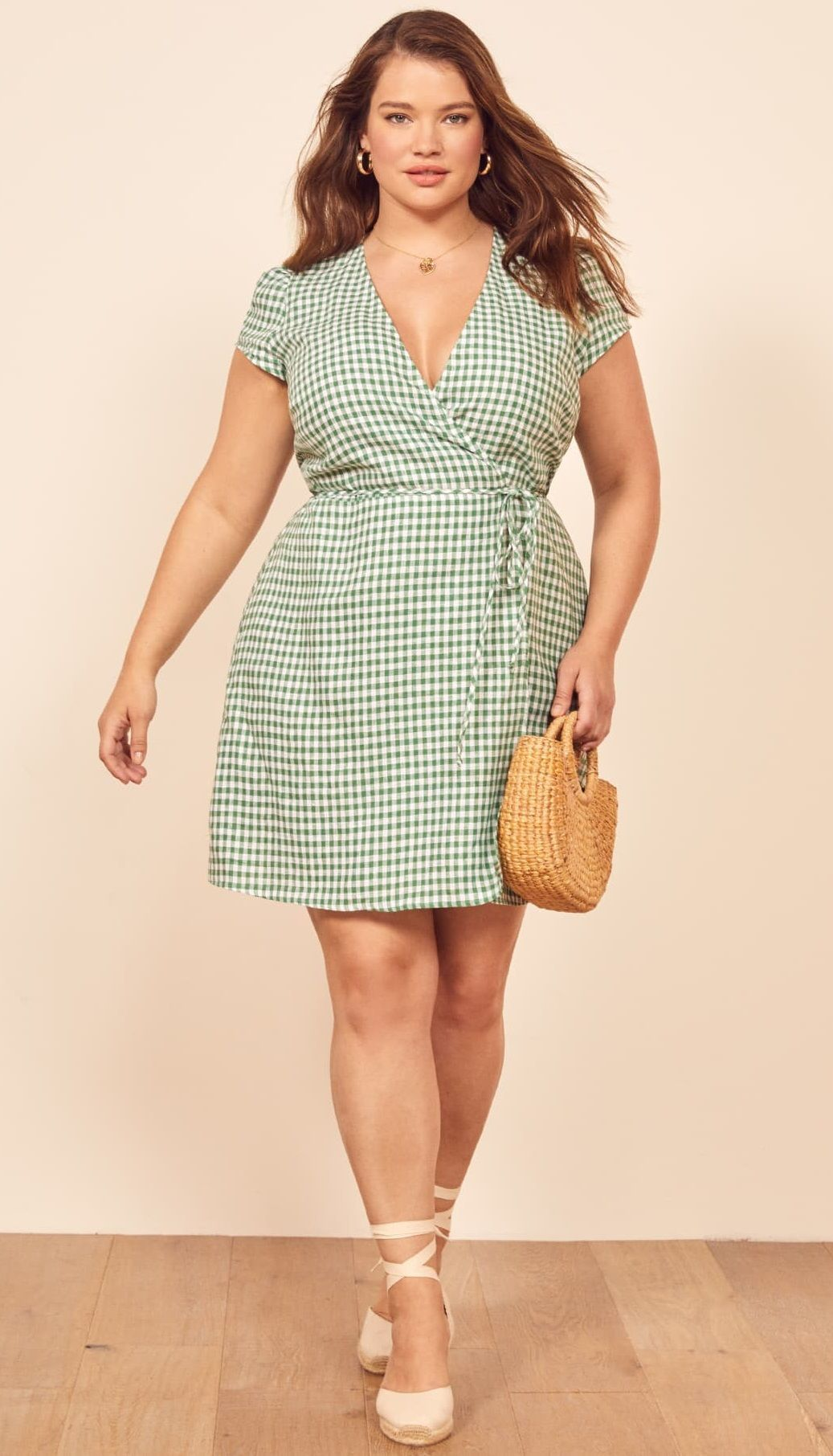c0e93f363d Plus Size Gingham Dress  Plussize