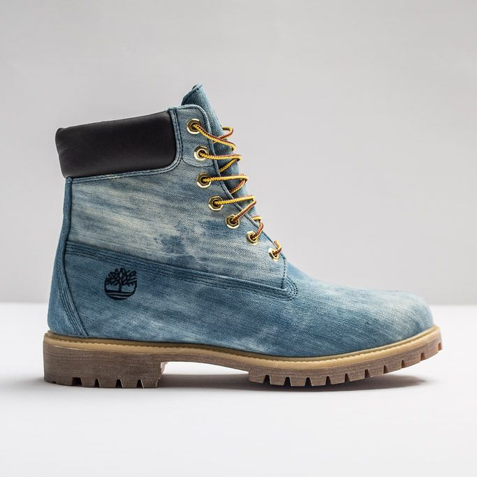 Jimmy Jazz & 21 Savage Collaborate On Timberland 6-Inch Denim Boot