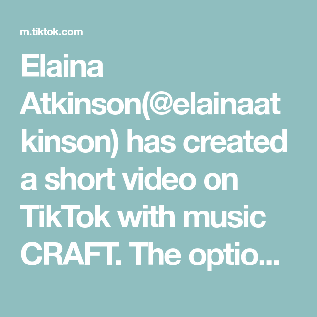 Elaina Atkinson(@elainaatkinson) has created a short video on TikTok with music CRAFT. The options are endless when it comes to building a custom home #realtor #realestatelife #customhomes #rvarealestate #realtorlife #newconstruction