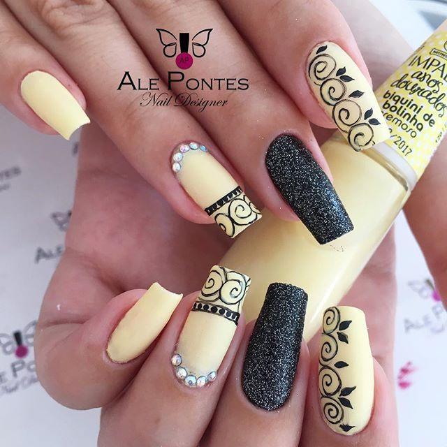 Pin de Milagros Vela en Nails | Pinterest | Diseños de uñas ...