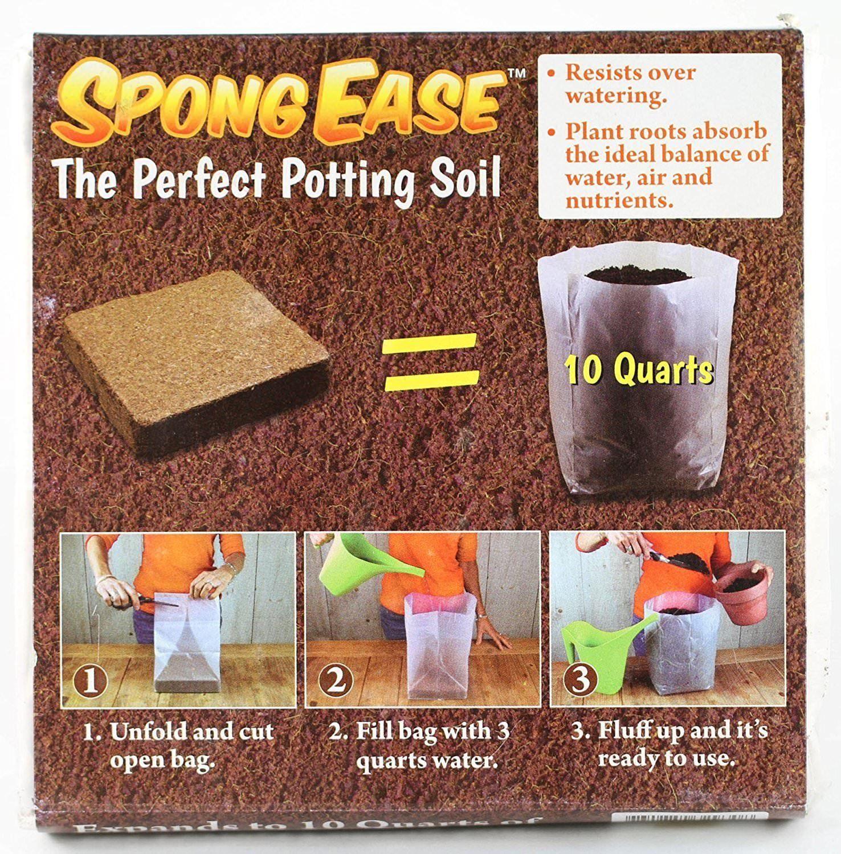 Coco Coir Brick Potting Soil Mix Coconut Palm Garden Plants Seed