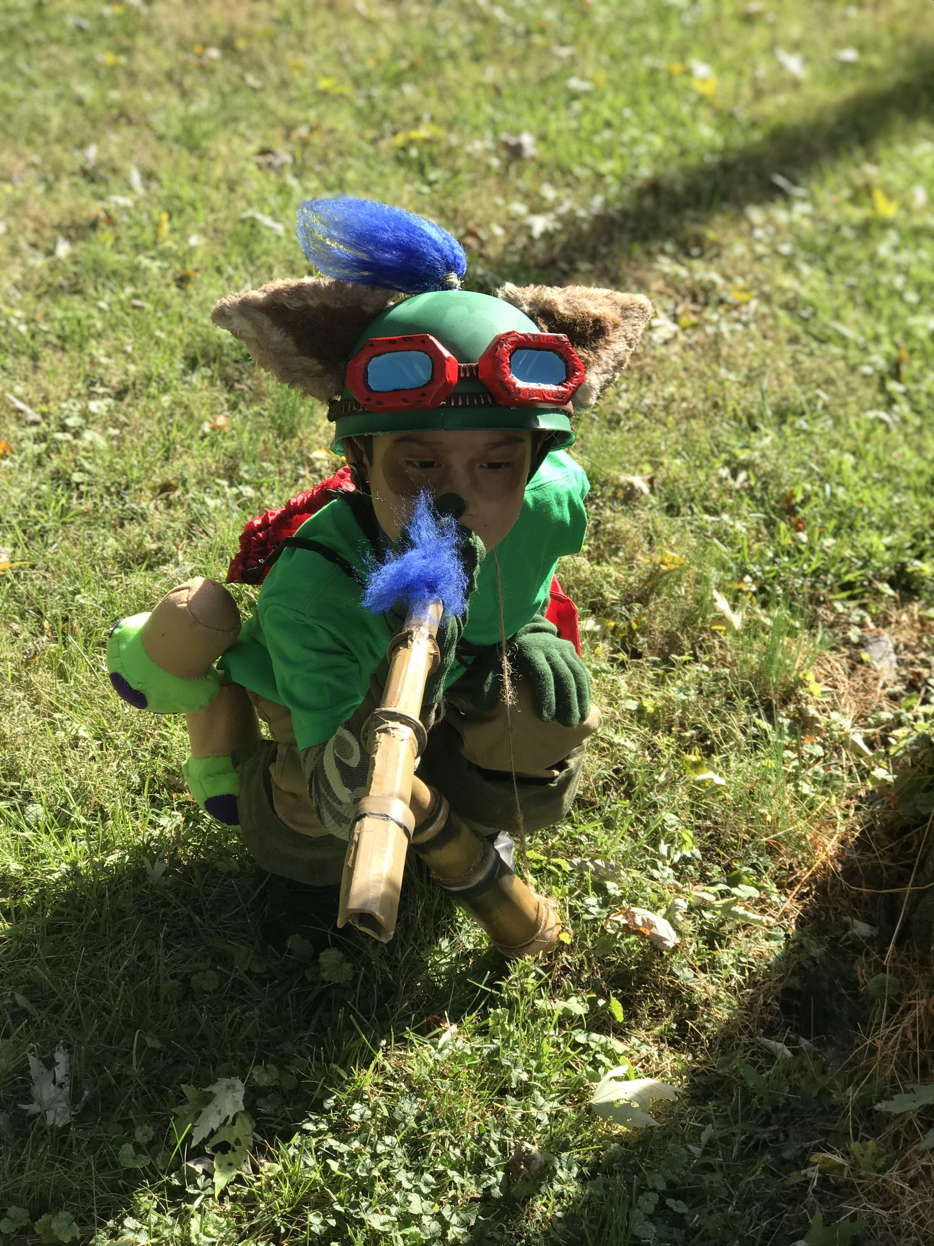 DIY Halloween costume as Teemo & DIY Halloween costume as Teemo | DIY Halloween Fun | Pinterest ...