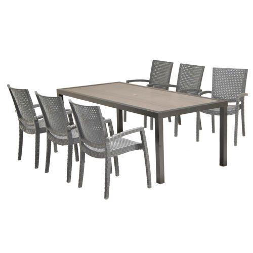 st malo piece dining set backyard outdoor decor outdoor rh pinterest co uk