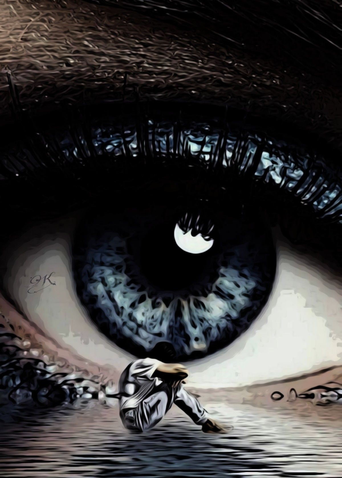 Pin by Inesa on MIRADAS HERMOSAS (Kay) Trippy eye, Cool