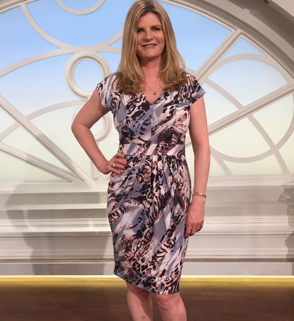 Print jersey dress trinny and susannah fashion style clothes print jersey dress trinny and susannah floridaeventfo Image collections