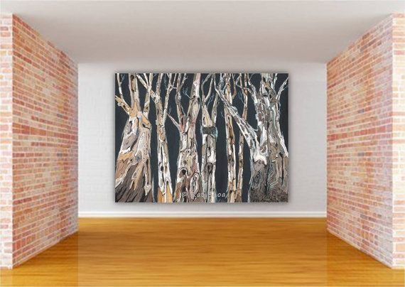 extra large masculine wall art oversized living dining room canvas rh pinterest com
