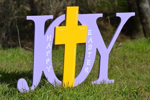 easter religious outdoor yard decoration sign by ivyswoodcreations - Religious Outdoor Christmas Decorations