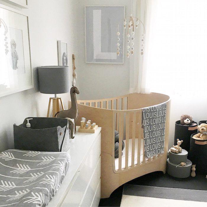 Nursery Feature Neutral Scandinavian Nursery with a
