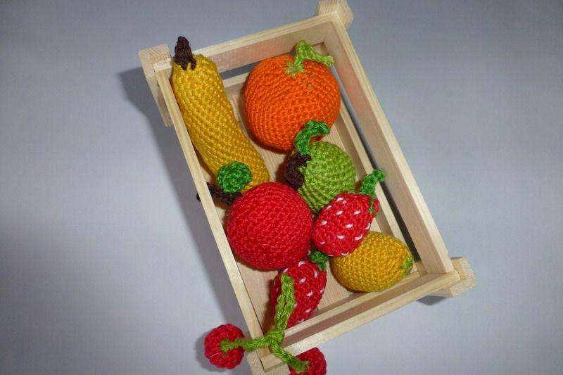 kleine Obstkiste von LottieKarotti auf DaWanda.com